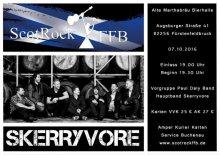 ScotRockFFB : Skerryvore + The Paul Daly Band in Fürstenfeldbruck  Fr. 7th Okt